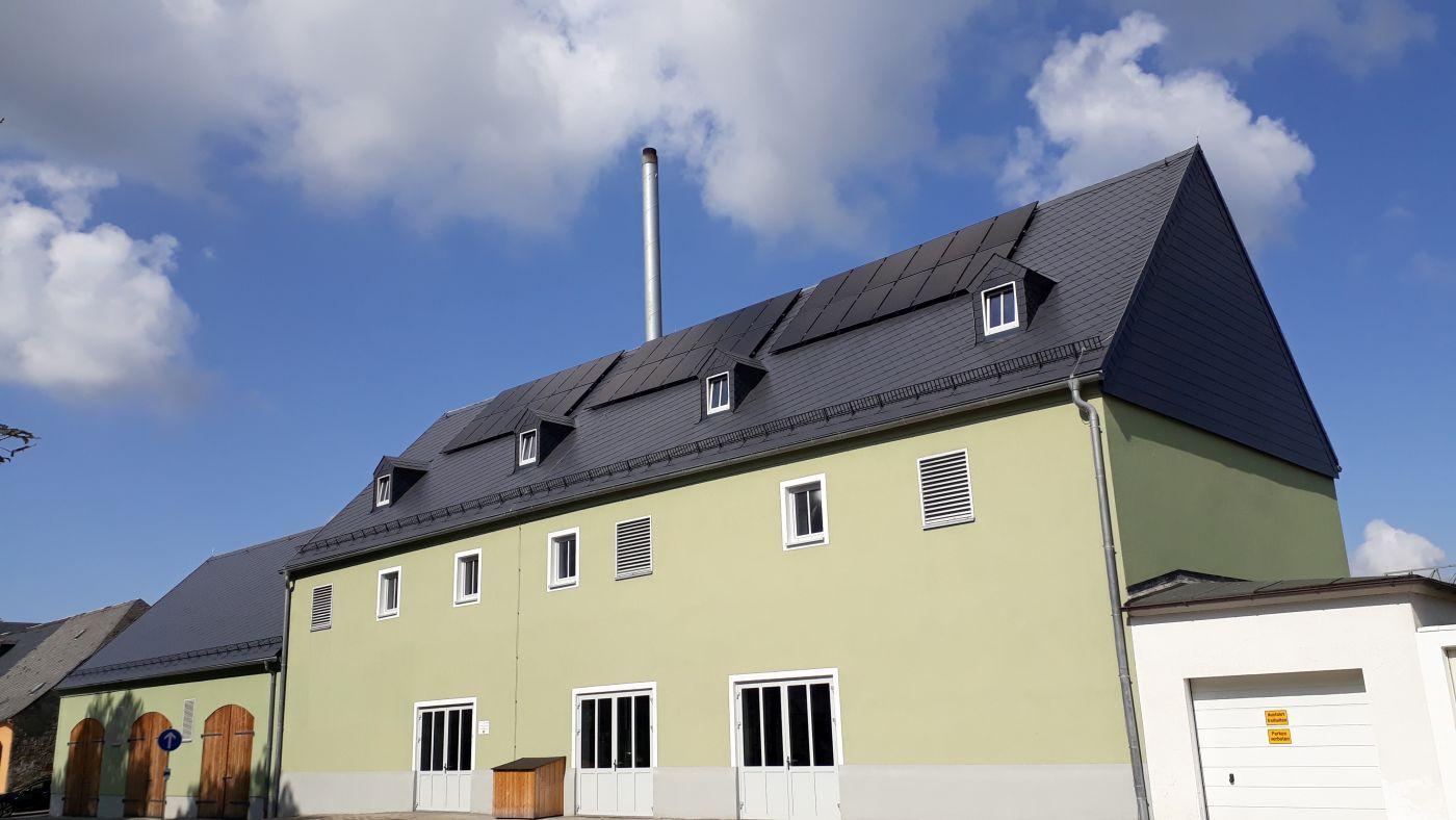 Umbau Lagerhalle zu Heizkraftwerk in Weißenstadt