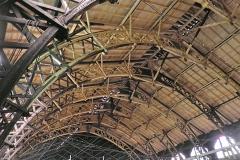 Sanierung der Produktionhalle Glasfabrik Lambert in Waldsassen, Statische Zimmererarbeiten