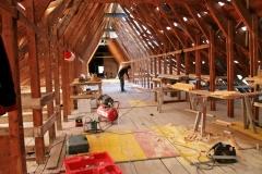 Generalsanierung der Gedenkstätten in Flossenbürg, Baumeister- und Zimmererarbeiten