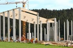 Neubau Biomasseheizkraftwerk und Pelletsproduktion mit Lagerhallen und Spänetrocknung BA I u. BA II mit Außenanlagen in Wunsiedel