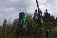 Neubau Trinkwasseraufbereitungsanlage und Hochbehälter mit dem Wasserleitungsbau für das Quellgebiet