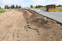 Straßenbauarbeiten in Helmbrechts Kreuzungsänderung und Fahrbahnerneuerung Gunterstraße