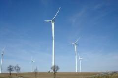 Tiefbauarbeiten für Windparkanlage