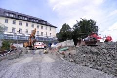 Komplettsanierung der Kanal- und Tiefbauarbeiten am Klinikum Hohe Warte in Bayreuth