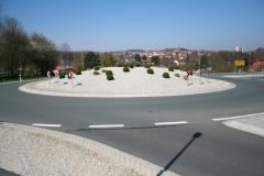 Umbau der Kreuzung B299St2181 und Neubau eines Kreisverkehres in Erbendorf