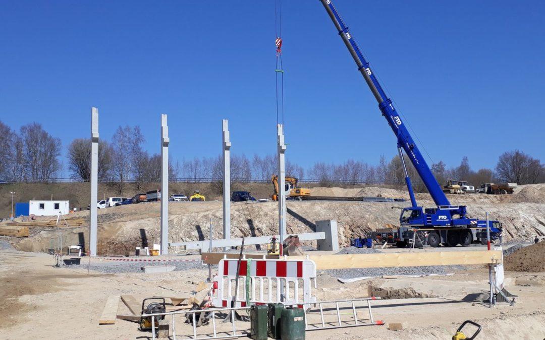 Neubau Sägewerk Wunsiedel